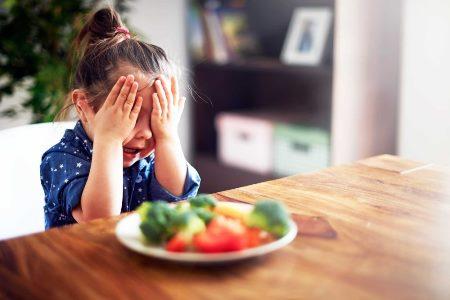 ребенок не ест овощи