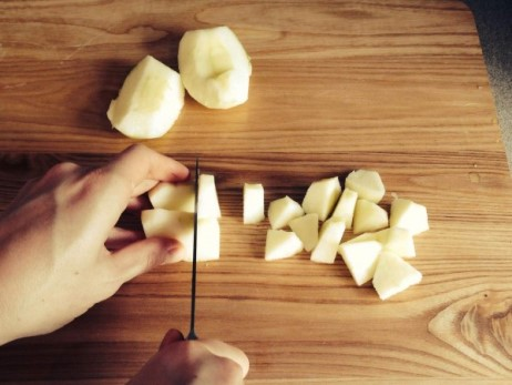 ломтики яблок