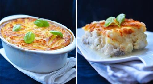 картофельное блюдо
