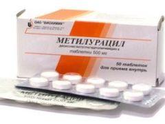 Особенности использования препарата Метилурацил: показания, противопоказания, допустимая дозировка