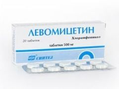Как правильно принимать Левомицетин при поносе?