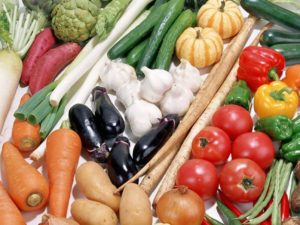 Меню при ГЭРБ: овощи и фрукты