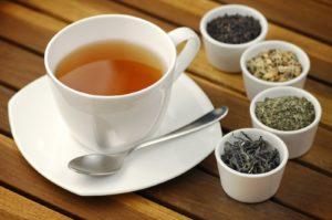 Напитки при гастрите: чай