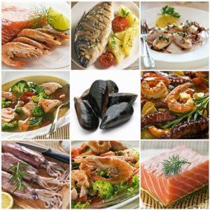 Морепродукты при гастрите: креветки и кальмары