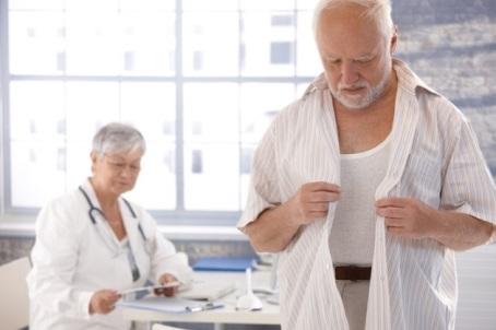 пациент в кабинете врача