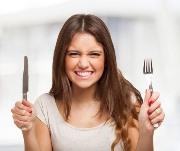 чувства голода, даже после еды